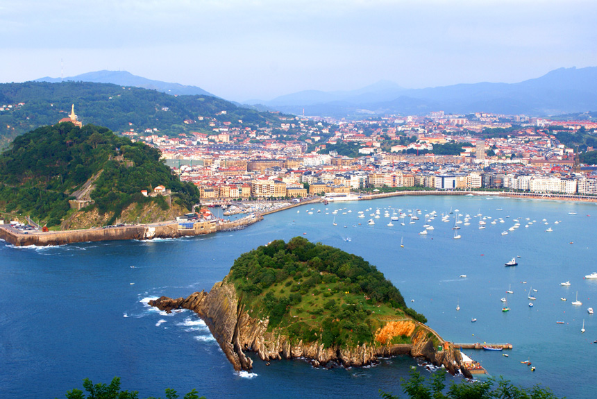 San Sebastian Spain  city images : The English speaking community in France, Italy, and Spain